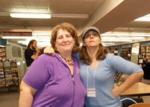 Lenore and Pat (photo credit: Lori Twining)