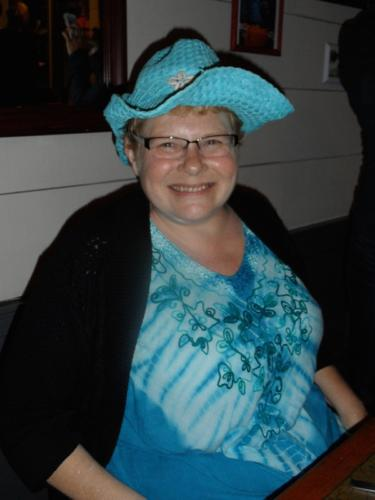 """Grandma Giggles ~ Author Lunch at """"The Cottage Waterfront Grill""""."""
