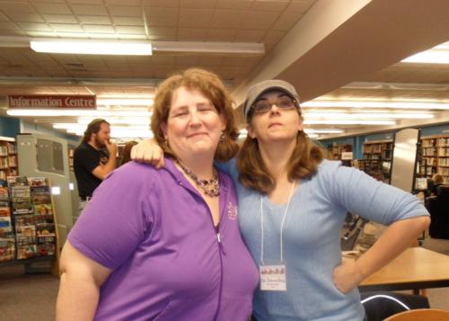 Extreme competitors ~ Lenore Butcher & Patricia Flewwelling.