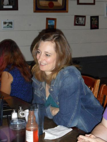 """Kate ~ Author Lunch at """"The Cottage Waterfront Grill""""."""